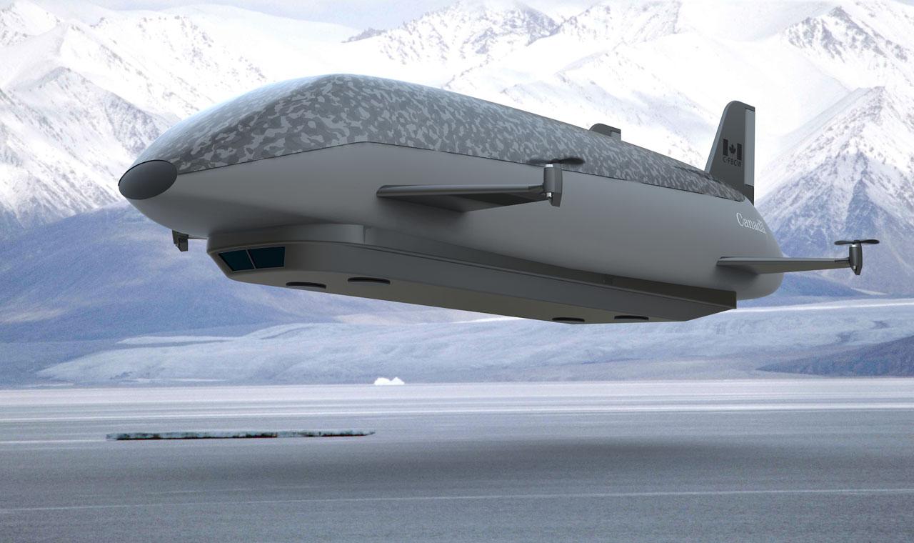 Logistics Arctic Airship Network Delivery - George Mason